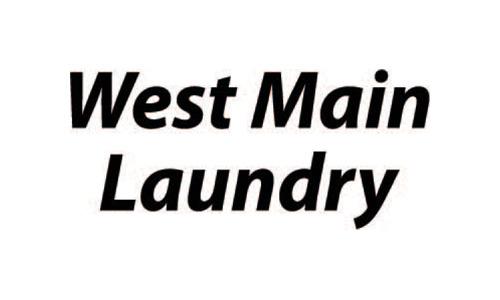 West Main Laundry Logo