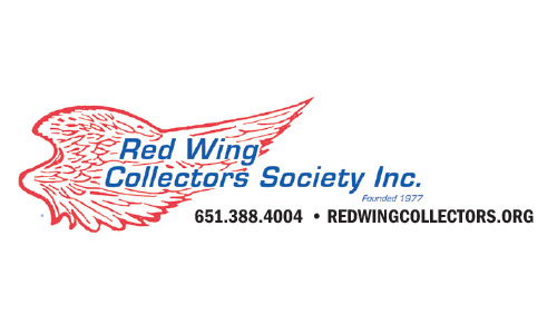 red wing collectors society logo