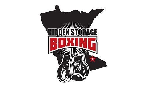 hidden storage boxing logo